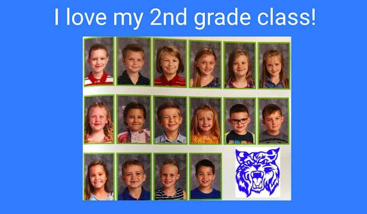 Second Grade End of Year 2020