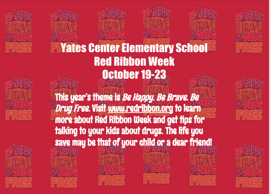 YCES Red Ribbon Week Oct. 19-23